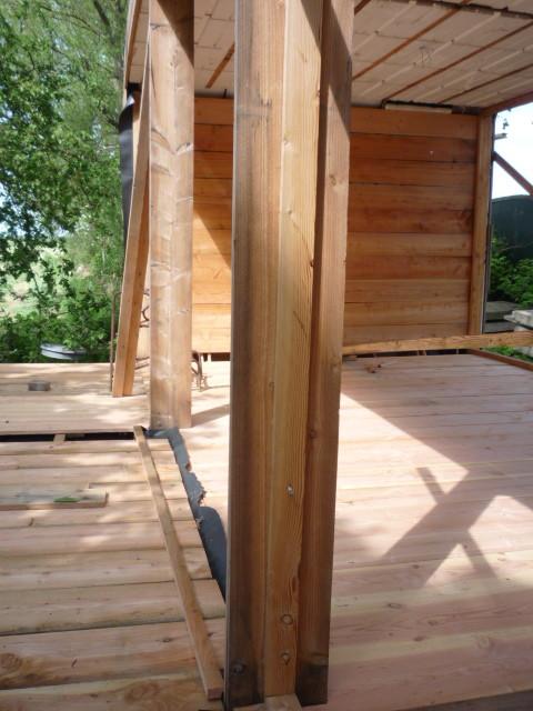 vloer met nieuw hout